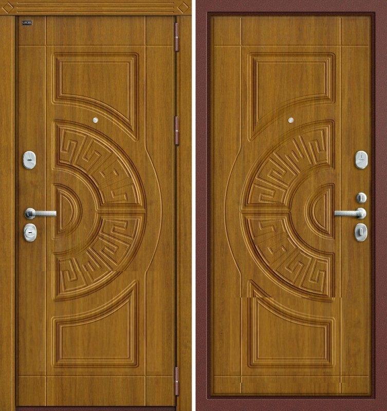 дуб стальная дверь