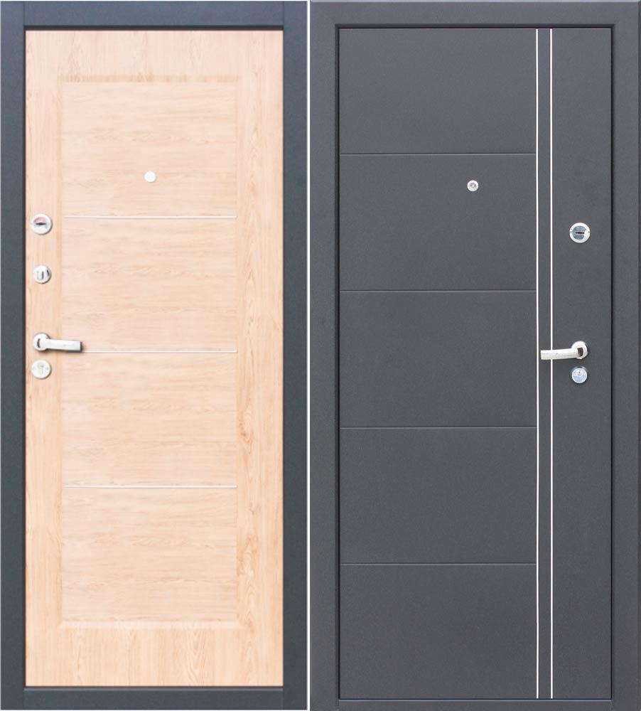 двери входные металлические светлые
