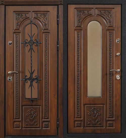 купить дверь входную с ковкой