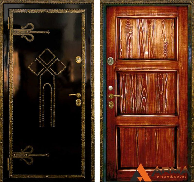 это разновидность металическая дверь в холле термобелья