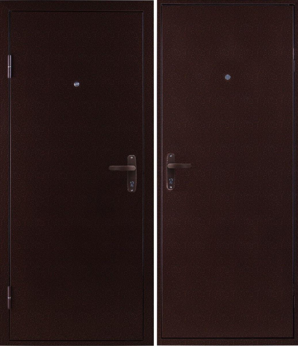 стальное двери эконом