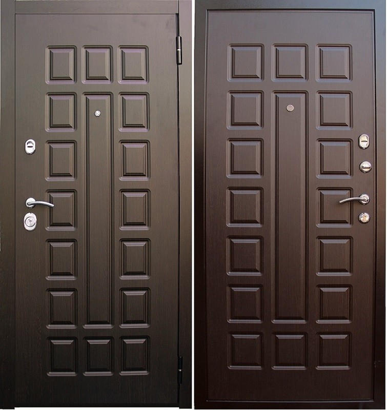 дверь металлическая люкс